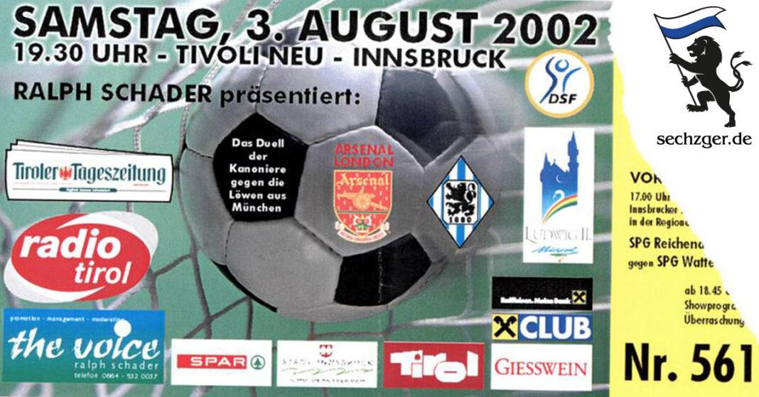 Ticket Arsenal - TSV 1860