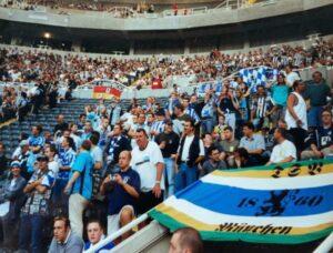 TSV 1860 Fans in Newcastle