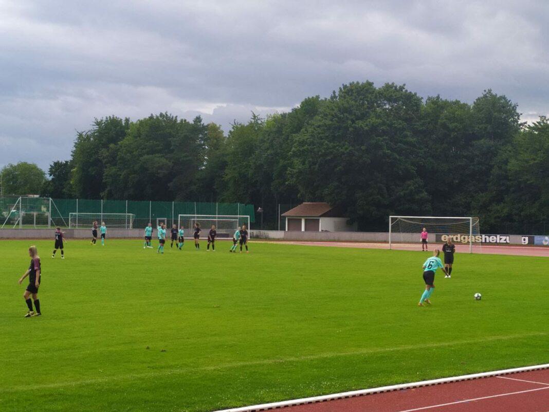 TSV 1860 München Frauen Spielszene Bei Testspiel In Ingolstadt