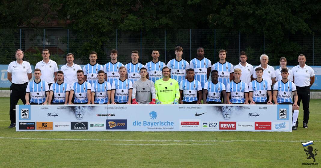 Die U21 des TSV 1860 München