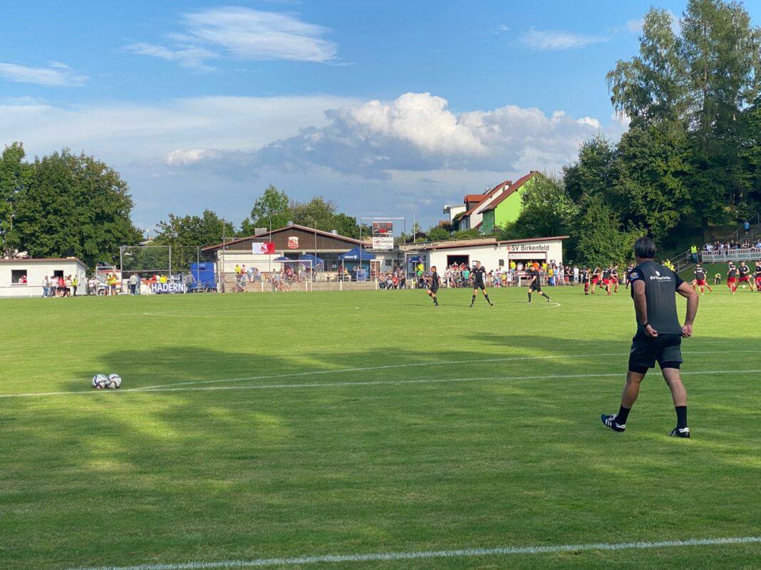 TSV 1860 München in Birkenfeld im Toto-Pokal August 2021