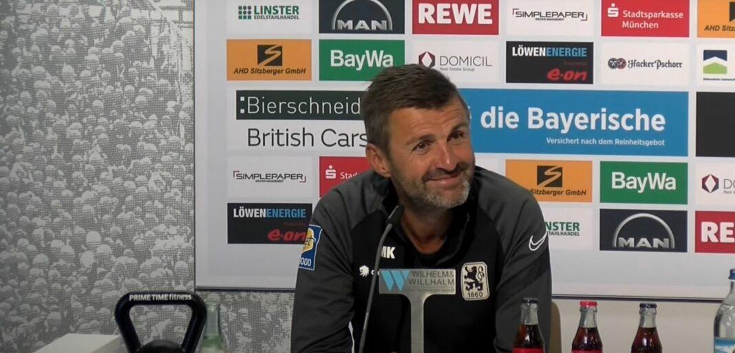 Pressekonferenz vor TSV 1860 München - FSV Zwickau 17.09.2021