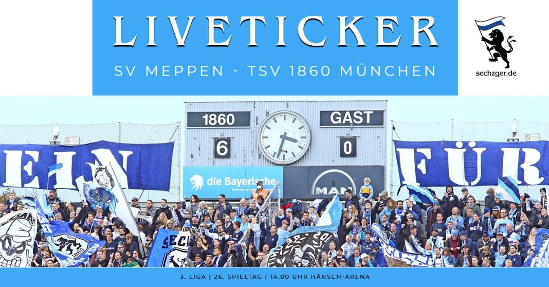 Liveticker TSV 1860 München SV Meppen